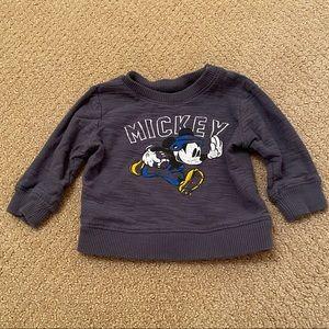 Baby boy Mickey Mouse sweatshirt
